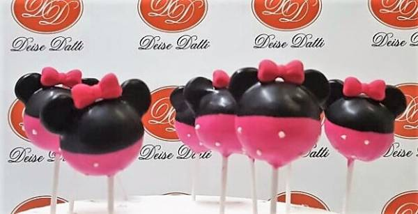CAKE POP PERSONALIZADO MINNIE